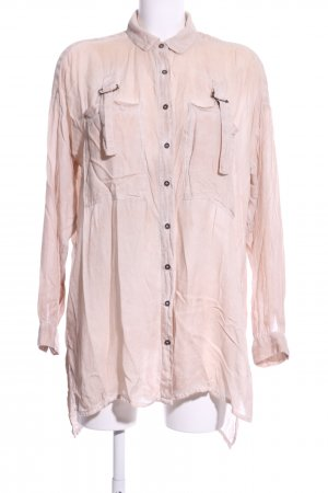 Mango Long-Bluse pink Casual-Look