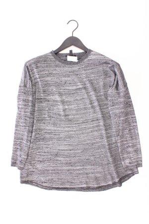 Mango Longsleeve-Shirt Größe L Langarm grau