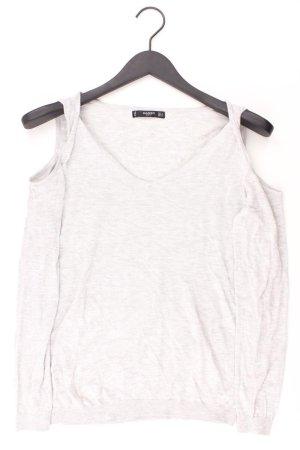 Mango Longsleeve-Shirt Größe S Langarm grau