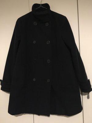 Mango Winter Coat dark blue