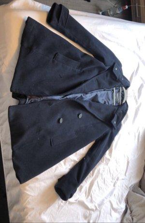Mango Basics Oversized jas donkerblauw