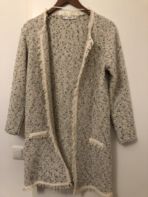 Mango Suit Abrigo de invierno crema