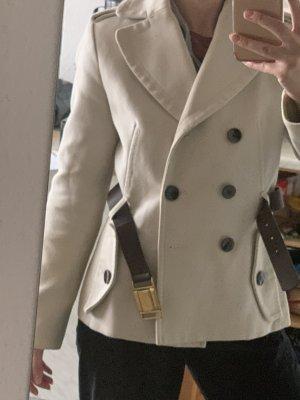 Mango Manteau mi saison beige clair