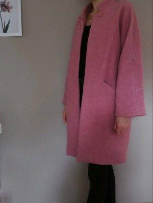 Mango Abrigo ancho rosa empolvado-rosa