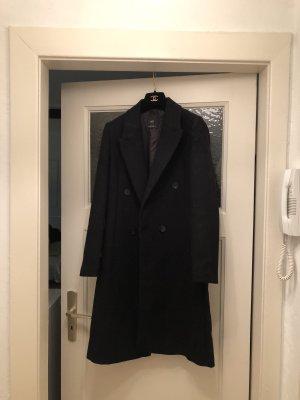Mango Mantel Wolle Lana Klassik Trenchcoat Coat Jacke