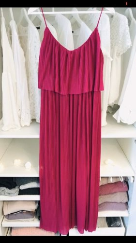 Mango Maxi Dress raspberry-red-magenta