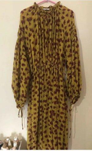 Mango Maxi Dress multicolored mixture fibre