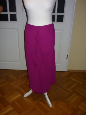 Mango Flounce Skirt magenta