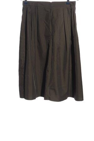 Mango Spódnica midi czarny Melanżowy W stylu casual