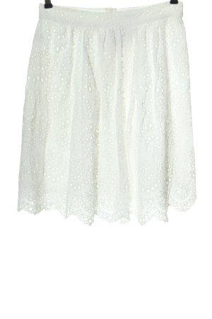 Mango Spódnica midi biały W stylu casual