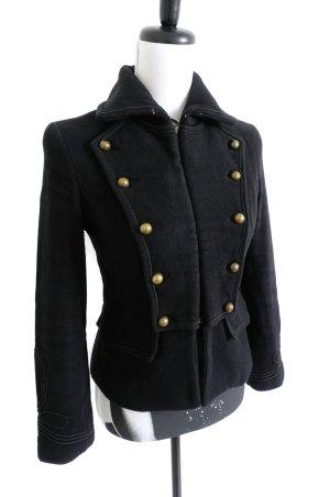 MANGO Military Jacket Jacke Blouson schwarz – XS