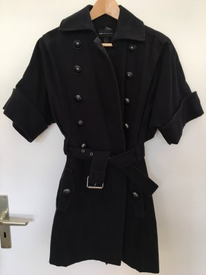 Mango Casual Sportswear Military Jacket dark blue