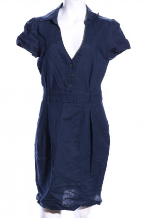 Mango Minikleid blau Casual-Look