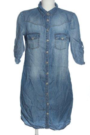 Mango Robe courte bleu style décontracté