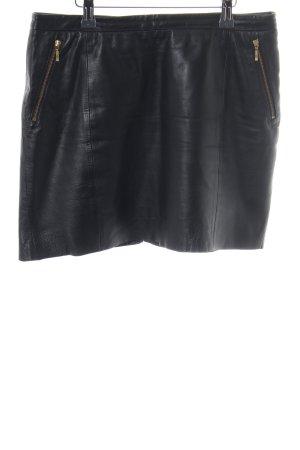 Mango Minirock schwarz extravaganter Stil