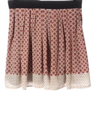Mango Miniskirt check pattern casual look