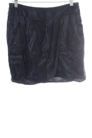 Mango Minirock dunkelblau schlichter Stil