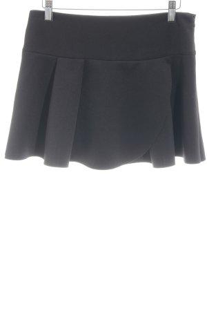 Mango Minifalda negro look casual
