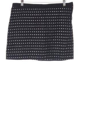 Mango Mini-jupe noir style décontracté