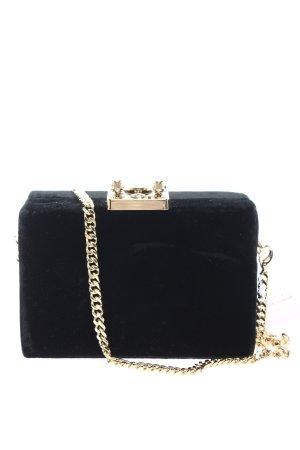 Mango Minitasche schwarz-goldfarben Elegant