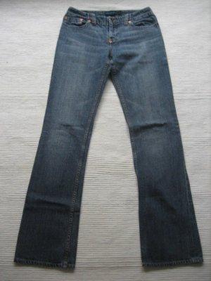 mango mng jeans wie neu hueftjeans