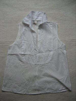 mango mng sommer top bluse wiess neuwertig gr, xs 34
