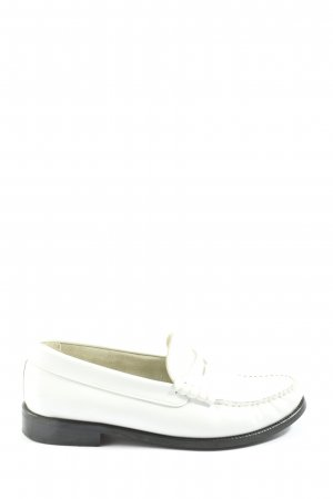 Mango Mocasines blanco look casual