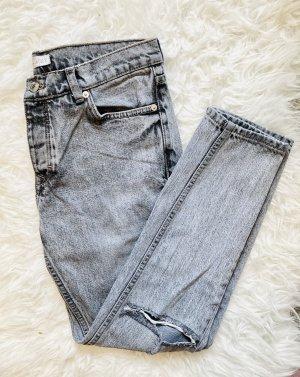 Mango Boyfriend Jeans grey