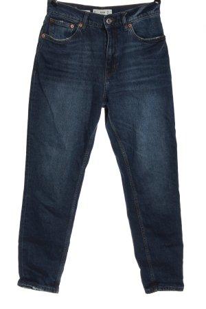 Mango Mom-Jeans blau Casual-Look
