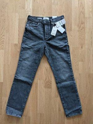 Mango Mom-Jeans Wielokolorowy Bawełna