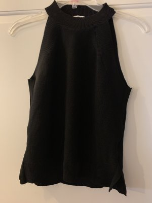 Mango Basics Muscle Shirt black