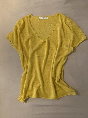 Mango Camisa de ganchillo multicolor