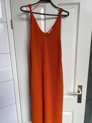 Mango orange kleid grösse L