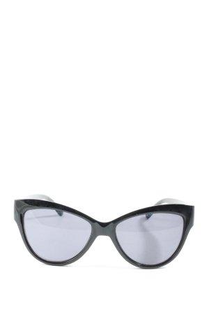 Mango Gafas de sol ovaladas negro look casual