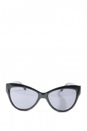 Mango Oval Sunglasses black casual look