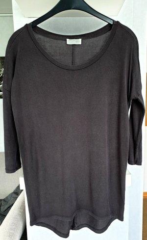 Mango Oversized shirt antraciet