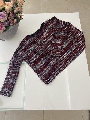 Mango oversized Pullover in XS / 34 schwarz rot weiß