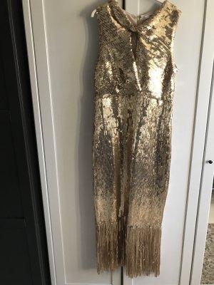 Mango Paillettenkleid Gold / Party / 20er Jahre / Charleston