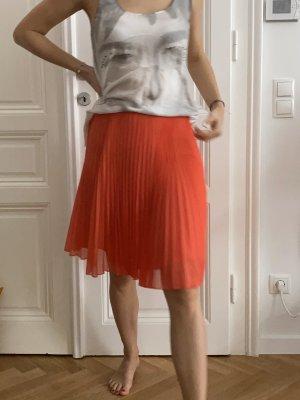 Mango Plaid Skirt multicolored