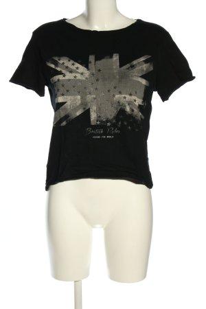 Mango Print-Shirt Motivdruck Casual-Look
