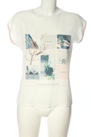 Mango Print-Shirt Motivdruck Elegant