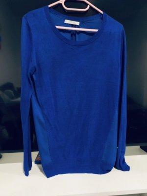 Mango Cashmere Jumper blue