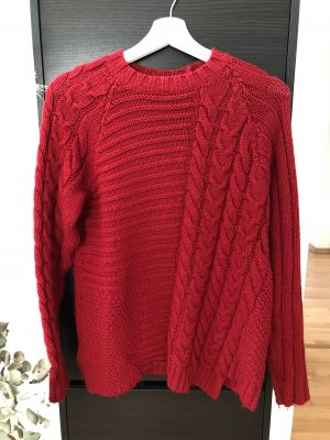 Mango Pullover in rot | S