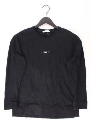 Mango Sweater zwart Katoen