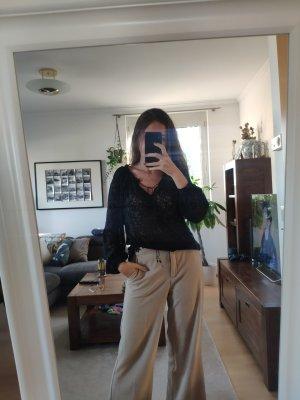 Mango Punkte-Bluse