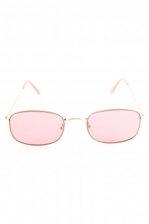 Mango Retro Brille pink Casual-Look