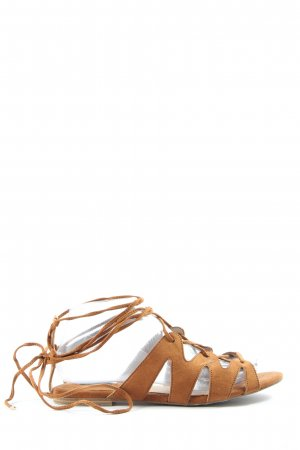 Mango Strapped Sandals light orange casual look