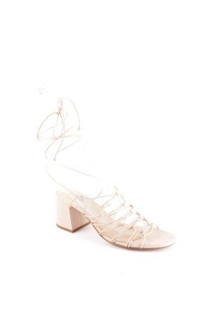 Mango Riemchen-Sandaletten altrosa Elegant