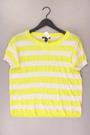 Mango Gestreept shirt geel-neongeel-limoen geel-donkergeel Acryl