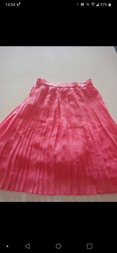 Vera Moda Plisowana spódnica różowy